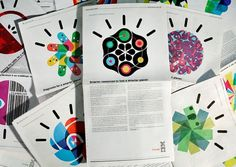 Office | Work | IBM / Designing a Smarter Planet #geometry #jason #print #office #san #geometric #ibm #ad #francisco