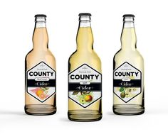 County Cider — The Dieline