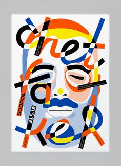 Typeverything.com - Chet by FEIXEN aka Felix Pfäffli. #poster #music #color #typhography #portrait