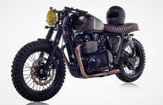 British Customs Unveils Bespoke DBSC Motorcycle for David Beckham #BritishCustoms #DBSC #DavidBeckham