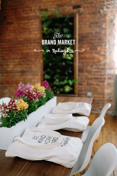 Brand Market Workshop: Raleigh | The Fresh Exchange #beautiful #typography