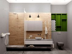 Austrian Loft by Tatyana Bobyleva austrian loft project tatyana bobyleva bathroom #bathroom #bath #bathroom design