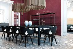 luxurious Interior by Iryna Dzhemesiuk and Vitaliy Yurov - #decor, #interior, #home
