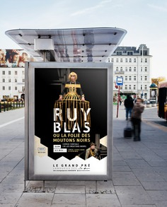 Affiche Ruy Blas par Dezzig