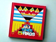 Mola tener 5 años. #playful #book #childbook #cover #spanish #illustration #children