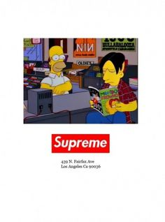 The World's Best Ever: Design, Fashion, Art, Music, Photography, Lifestyle, Entertainment #supreme #simpsons #skateboarding #the