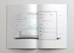 How are you Brochure #clean #print #design #ui