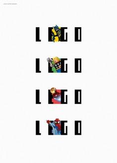 LEGO Logo Design Concept