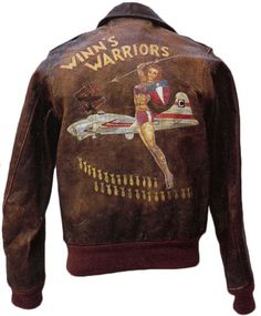 WWII bomber jacket art