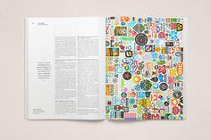 The Great Discontent Magazine Spread 5 - Aaron Draplin #logos #color #publication #layout #magazine