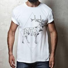 Hirsch Poly Design #hirsch #poly #dreieck #polymerclay #deer #elk #elkdesign #spreadshirt #hirschdesign #lowpoly #tshirtdesign #shirtdesign #creativeshirt Buy it here: https://www.spreadshirt.de/hirsch+t-shirts-A114606409