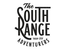 The South Range Adventurers #logo #branding