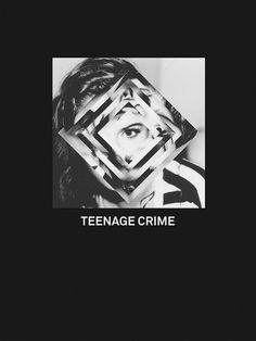 Teenage Crime - RobotTiger #design #photography #poster #teenage #crime