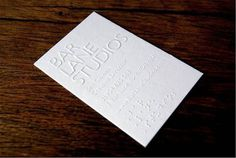 30 Sophisticated Embossed Business Cards | Naldz Graphics