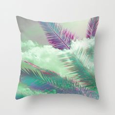 Neonpop Throw Pillow