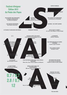 Festival d'Avignon #poster