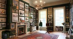The Little Museum of Dublin #walls #frames #decor