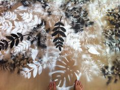 Plenty (2012) Geoffrey Holstad #leaves #floor