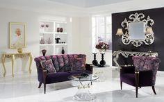 Upholstered lounge suites art of beauty by Finkeldei - www.homeworlddesign.com (4) #inspiration #lounge #homedecor #homedesign