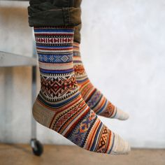 The Design Vault #socks #colorful #nordic