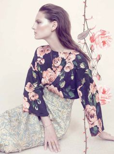 {fashion inspiration | collaboration : victoria and albert museum x harper's bazaar}