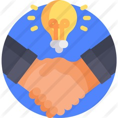 See more icon inspiration related to business and finance, hands and gestures, handshake, hand shake, shake hands, agreement, shake, gestures, hands and business on Flaticon.