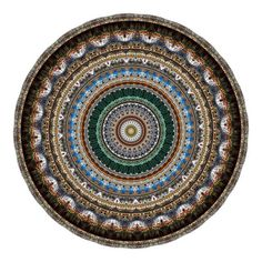 Neal Peterson Combines Photographs He Takes of Different Places Into Mandalas
