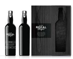 Royal Lager Product Design #packaging #royal #hull #lager #nathan