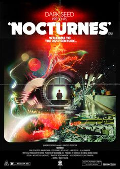 The latest collaborative project from me & Richard Norris Dark Seed Nocturnes EP 12 soundtrack vinyl & limited foldout poster Ohmeg #insect #noctunes #luke