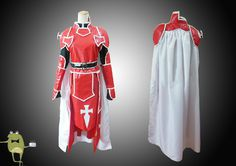 SAO Knights of Blood Heathcliff Cosplay Costume #heathcliff #costume #cosplay