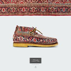 Persian shoe concept #shoes #persian #design #concept #carpet #idea