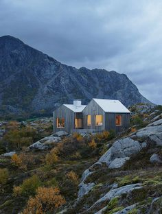 Vega Cottage by Kolman Boye Architects references weathered boathouses #architecture #inspiration #modern #house #cabin
