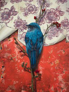 bird wallpaper #painting