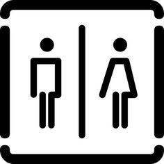 bagno unico by no zone, via Flickr #iconography #icon #sign #icons #symbols #signs
