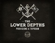 FFFFOUND! | The Lower Depths on the Behance Network #logo #depths #lower #typography