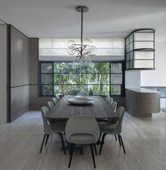 dining room, Sydney's Dress Circle by Luigi Rosselli Architects