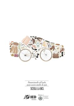 #nurdinova #bicycle #comune #design #graphic #karina #advertising #milano #di #bike #fashion #milan #car #scary #italy