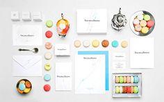 Theurel & Thomas | Identity Designed #macaroon #design #identity #food