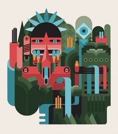 Fernando Volken Togni #brazil #design #tupi #vector