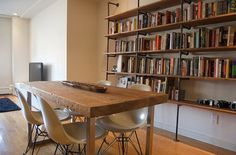 The DIY Gods of Spanish Harlem | Apartment Therapy New York #rustic furniture #gas pipes