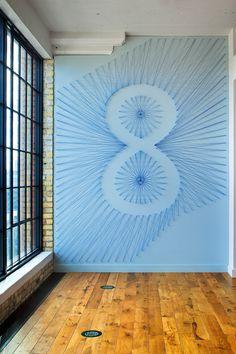 Olson office interior design #gensler #interior_design #walls #type