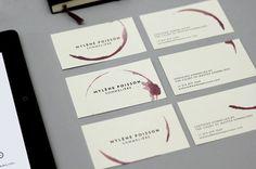 MYLÈNE POISSON SOMMELIÈRE on Behance #cards #business