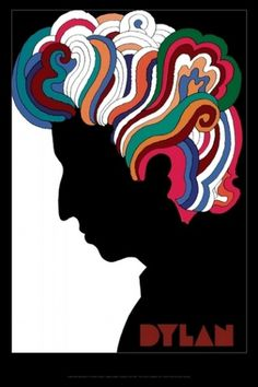 Milton Glaser | Store | Dylan Reproduction, 2008 #reproduction #dylan #poster #glaser #milton