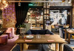 BeefZavod Restaurant by Enterior - InteriorZine