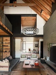 living room / Lake Flato Architects