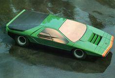 Alfa_Romeo_Carabo_Bertone.jpg 800×542 pixels #70s #carabo #supercar #romeo #vintage #alfa
