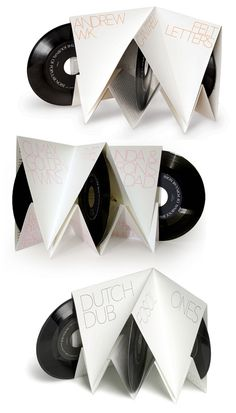 PopularNoise #packaging #design #graphic #simple #vinyl