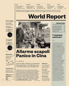 IL34 — World Report | Flickr – Compartilhamento de fotos! #grid #spread #magazine