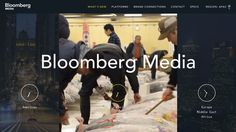 We just love how Bloomberg did to their website.