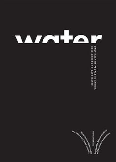 Water Poster #type